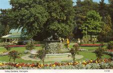 postcard  Durham  Harrowgatw Valley Gaedens     unposted  Dennis