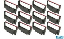 More details for 12 epson erc 30 erc 34 erc 38 2929dn black/red printer ribbon cassette by smco