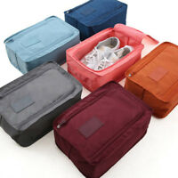 Portable Waterproof Travel Storage Bag Organizer Shoes Pouch Shoe Tote Case Zip#