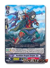 Cardfight Vanguard  x 4 Perdition Dragon Knight, Gia - BT17/070EN - C Mint