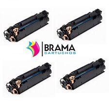 4x compatible HP 85A LaserJet CE285A Pro M1132MFP  M1210MFP M1212NF M1213 NF