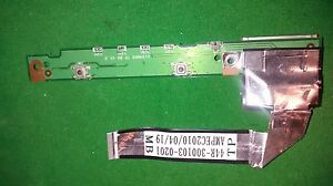 ADVENT MODENA M100 RED TOUCHPAD BOARD WITH CABLE (44R-300103-0201) -491