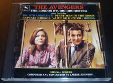 """THE AVENGERS"" Laurie Johnson Score (CD 1980) Dr. Strangelove/Hedda GREAT SHAPE"