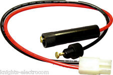 Icom 2-PIN PMR Cable de alimentación Fuente de enchufe de 2 Pines PMRC 3 Cable Cable 2-way Taxi