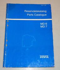 Reservdelskatalog Parts Catalog Volvo Penta MD 6 / MD 7 Stand 03/1984