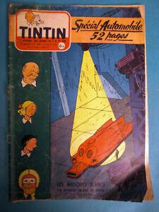 TINTIN Nos 408 DU 16 AOÛT 1956