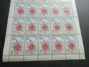 DOMINICAN REPUBLIC FULLSHEET (25stamps) MNH,1957 HEALTH, MILDRED DIDRICKSON, EXC