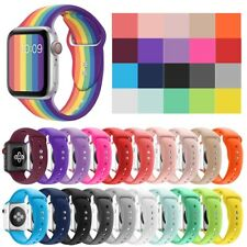 Pride Silicone Sport Strap Band For Apple Watch Series 5/4/3/2/1 38/40/42/44mm