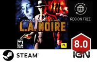 L.A. Noire [PC] Steam Download Key - FAST DELIVERY