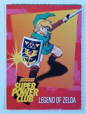 New listing VTG Nintendo Super Power Club Challenge Trading Card #85 Legend of Zelda NES