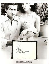 George Hamilton Autograph Dynasty Love at First Bite Zorro The Gay Blade Columbo