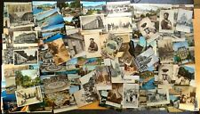 141 Vintage Postcards ALL from GENEVA Switzerland 1900-1966 Collection