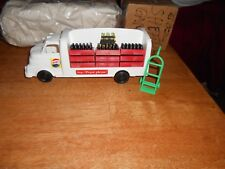 Nylint Style Pepsi Cases on a Plastic Pepsi Truck with hand cart ( NEW )