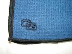 NEW Club Glove Royal Blue Microfiber Towel 17 x 39 W/8 x 12 Pocket Towel Bonus