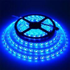 Striscia led luce Blu azzurro SMD5730 5metri 12V IP65 300 adesiva impermeabile