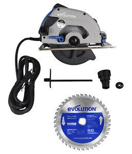 "Evolution S185CCSL 7-1/4"" Metal Cutting Circular Saw with Mild Steel Blade"