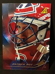 PATRICK ROY 1995-96 Pinnacle RINK COLLECTION Foil Card #169 Montreal Canadiens