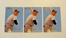 1998 Fleer Tradition Baseball Card MICKEY MANTLE #536 Yankees THREE (3) CARDS