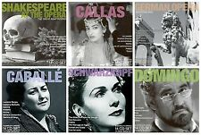 84 OPERA CD's ~ lot of 6 box sets of 14 CDs ~Callas,Caballe,Domingo,Schwarzkopf+