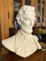 Beautiful President Abraham Lincoln Bust, 100 Years Old