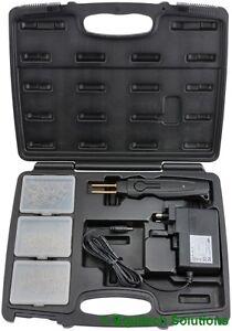 Draper  64738 (HPS) Hot Plastic Stapler Kit Bumper Fairing Repair Gun Weld