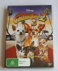 Beverly Hills Chihuahua 2 Disney Kids  PAL DVD R4 VGC