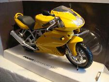 Custom Chopper lila aerógrafo Newray moto modelo 1:12