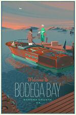 LAURENT DURIUEX - Welcome to Bodega Bay Art Print Poster Regular mondo birds