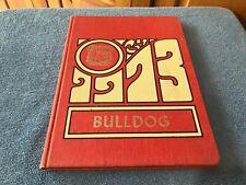 YEAR BOOK QUINTER BULLDOG HIGH KANSAS 1973