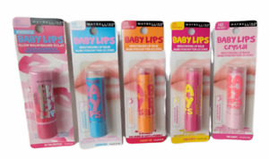 New Maybelline Baby Lips Moisturizing Lip Balm - Choose Your Shade-FREE SHIPPING