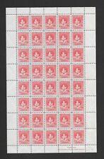 Nauru 1937 CORONATION 1 1/2d SG 44 COMPLETE SHEET OF 40  MNH