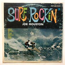 Joe Houston – Surf Rockin LP Vinyl Record Surf Rock Original 1963 VG+