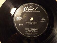 The Beach Boys........Good Vibrations........45rpm....60s Pop Beat