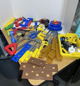 Durable Kids Tool Set, Pretend Play Educational Toy Tools, Tool