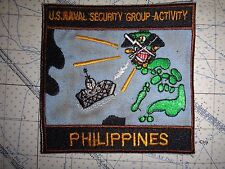 Vietnam War Patch US Navy NAVAL SECURITY GROUP ACTIVITY In PHILIPPINES
