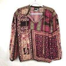 Jean Paul Gaultier Womens Peasant Blouse Size M Silk Mohair Sheer (BM-077)