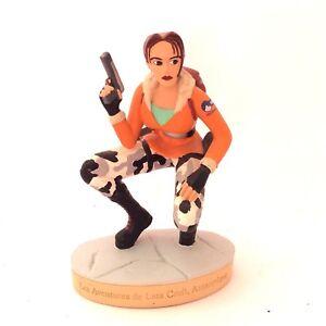 Figurine Lara Croft Tomb raider 04 Atlas Les aventures de Lara Croft Antarctique