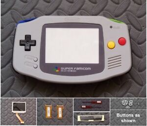 GameBoy Advance Cable Backlight Backlit Adapt AGS101 Mod Kit - Super Famicom