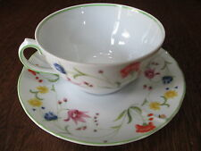 DENBY FINE CHINA-PORTUGAL TABLE TOP DESIGNS-TEA PARTY CUP & SAUCER SET 1974