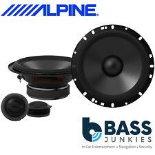 """Alpine S-S65C - 480 Watts a Pair 2 Way 6.5"""" 17cm Component Kit Car Door Speakers"""