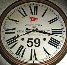 RMS Titanic, White Star Line, Chelsea Piers, New York, Reception Clock (Replica)