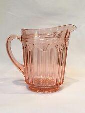 Pink Depression Colonial Knife & Fork 68oz Water/Tea Pitcher