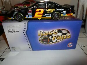 RUSTY WALLACE #2 MILLER <COLOR CHROME> 2005 DODGE CHARGER ACTION 1/24 CWC