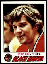 Bobby Orr 1977-78 Topps #251 Blackhawks