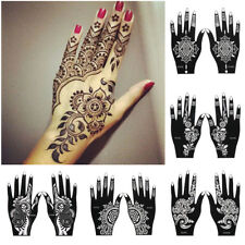 Tattoo Stencils DIY Body Art  Henna Template Sticker Temporary Hand Decal