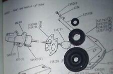 Humber Hawk (SER 2 3 4) Cilindro Principale Del Freno Guarnizioni Kit (* da OTT 60 - 68 *)