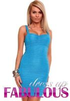 NEW SEXY WOMEN'S SUMMER DRESS Size 6 8 10 12 LADIES HOT CASUAL CLUBBING WEAR S M