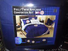 NCAA Illinois Fighting Illini APPLIQUE  Full/Twin  3 PC Comforter Set