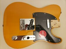 New Fender Squier Telecaster FSR Loaded Body..Electric Guitar...Butterscotch