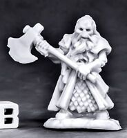 1x UNDYING DWARF FIGHTER -BONES REAPER figurine miniature rpg jdr skeleton 77561